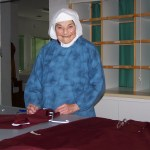 Shown here working in the laundry, Sister was always working for the Lord.
