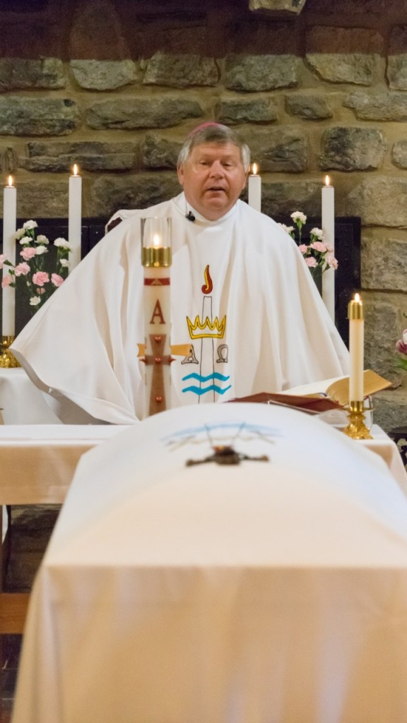Bishop Stika celebrates the Funeral Mass for Sister Mel Pierre