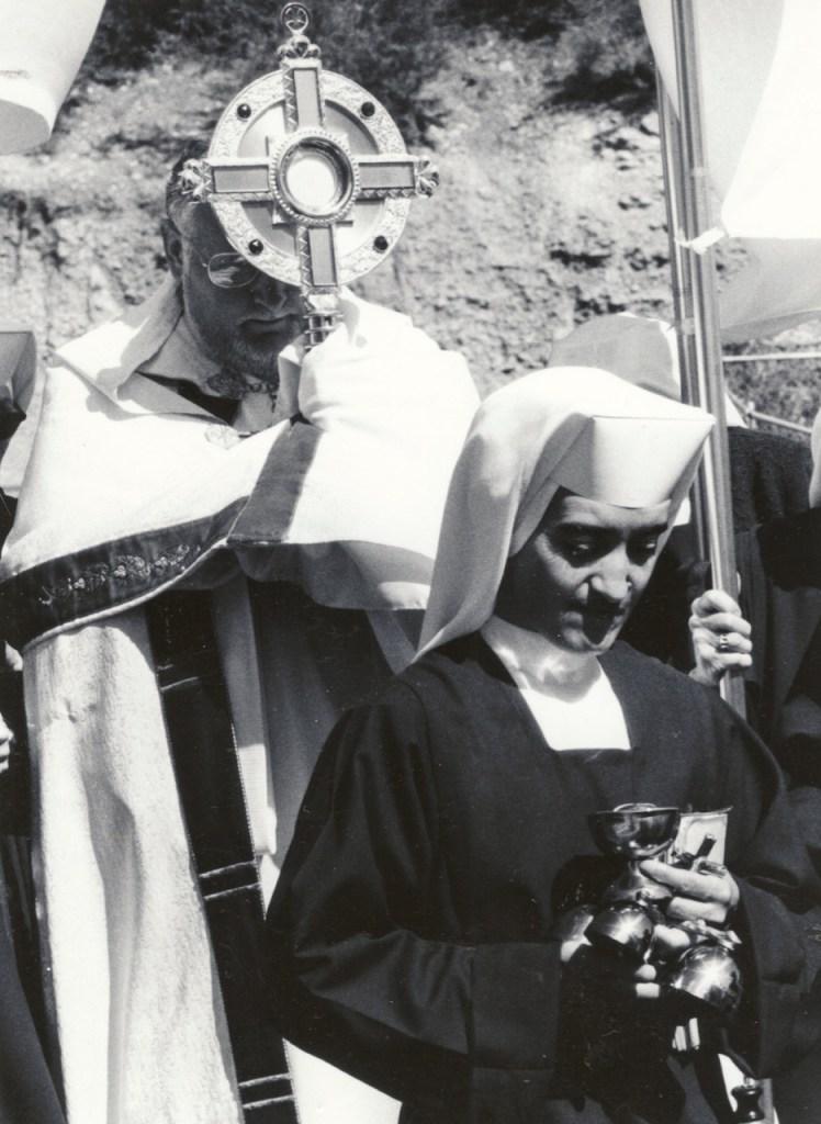Corpus Christi Procession with Father Bombera.