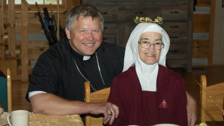 Bishop Stika and Sister Rose Anne