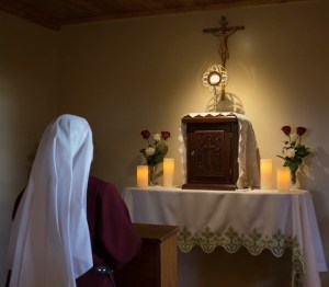 Nocturnal Adoration in the Cor Jesu Monastery in Christ the Teacher Oratory