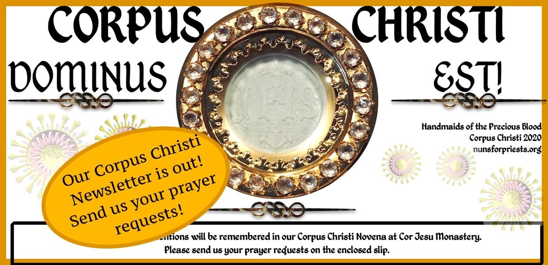SLIDER Corpus Christi Newsletter 2020