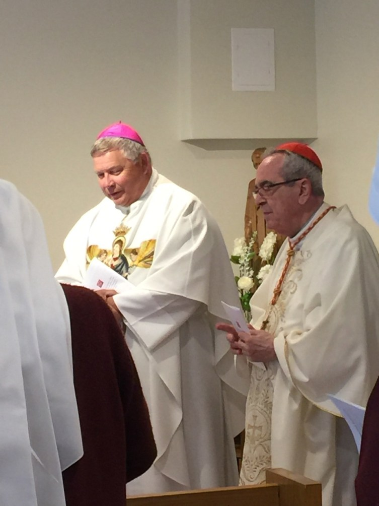 We were honored to have Cardinal Rigali concelebrate