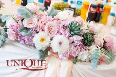 3Succulent Wedding Flowers by Unique Moments