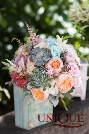 4Like a dream - succulent bouquet Unique Moments
