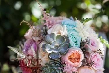 Echeveria bridal bouquet Unique Moments