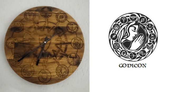 Godicon Uhr