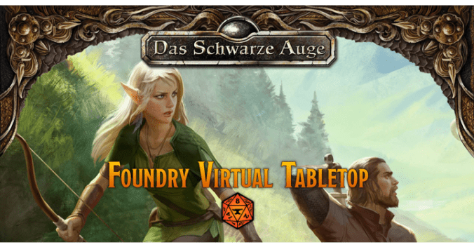 Foundry Virtual Tabletop DSA5 Kopfgrafik