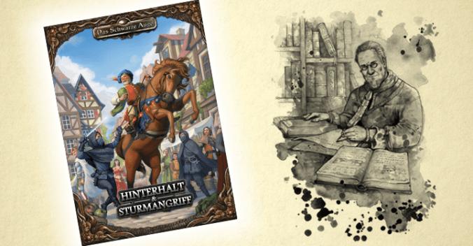 """Cover von """"Hinterhalt & Sturmangriff"""" und Darstellung Engors"""