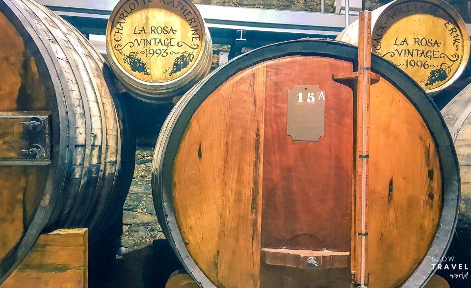 Barricas de Vinho do Porto