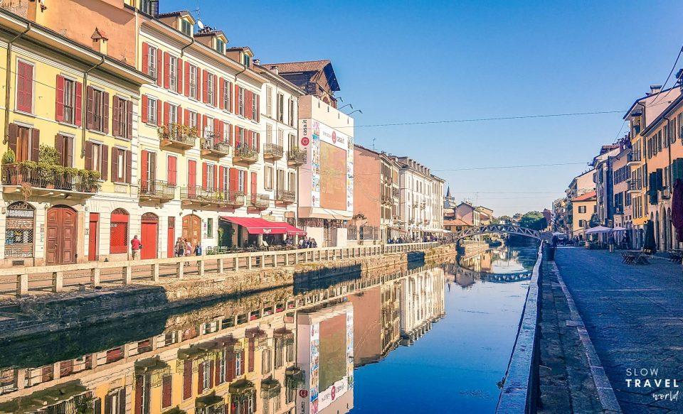 Bairro Navigli | Milão | Roteiro de viagem pela Itália