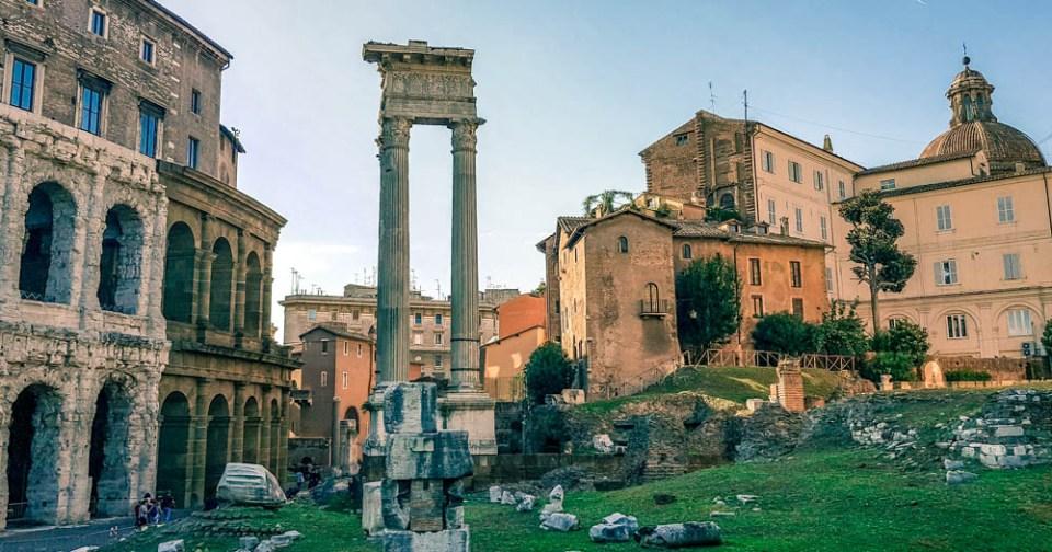 Teatro Marcelo | O que fazer em Roma