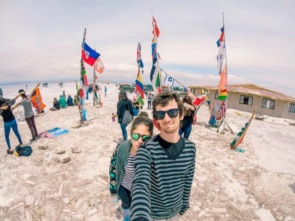 Salar de Uyuni | Praça das Bandeiras