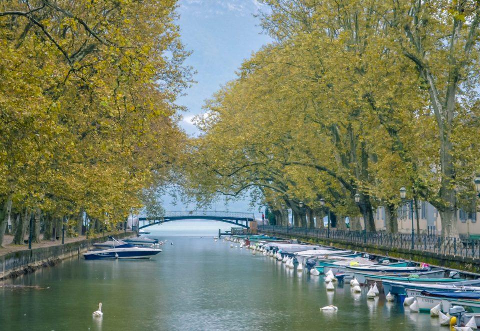 Pont des Amours, em Annecy