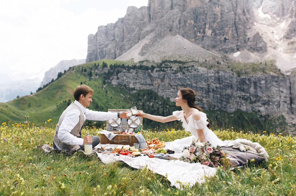 Elopement Wedding | Dolomitas