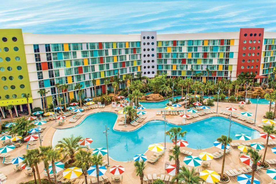 Onde se hospedar em Orlando // Cabana Bay Beach