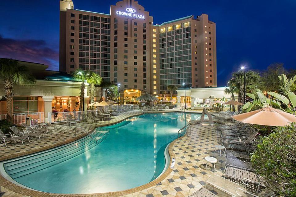 Onde se hospedar em Orlando // Crowne Plaza