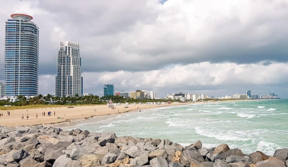 O que fazer em Miami // Vista de South Beach Point View