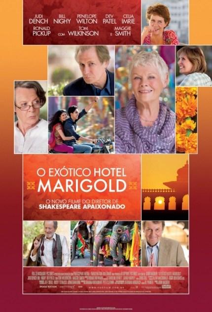 Filmes sobre viagem // O exótico hotel marigold