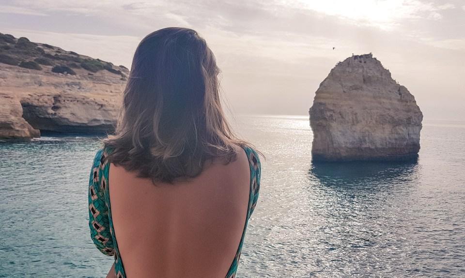 Praia do Carvalho // Melhores praias do Algarve