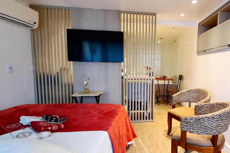 Airbnb em Búzios / Studio para casa na praia de João Fernandes