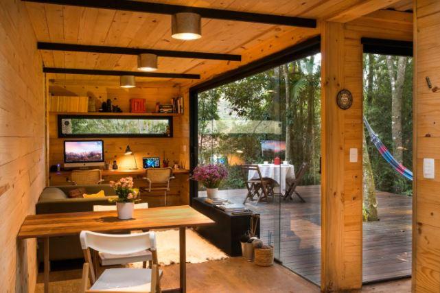 Casas incríveis para alugar no Airbnb / Casa container em Itaipava