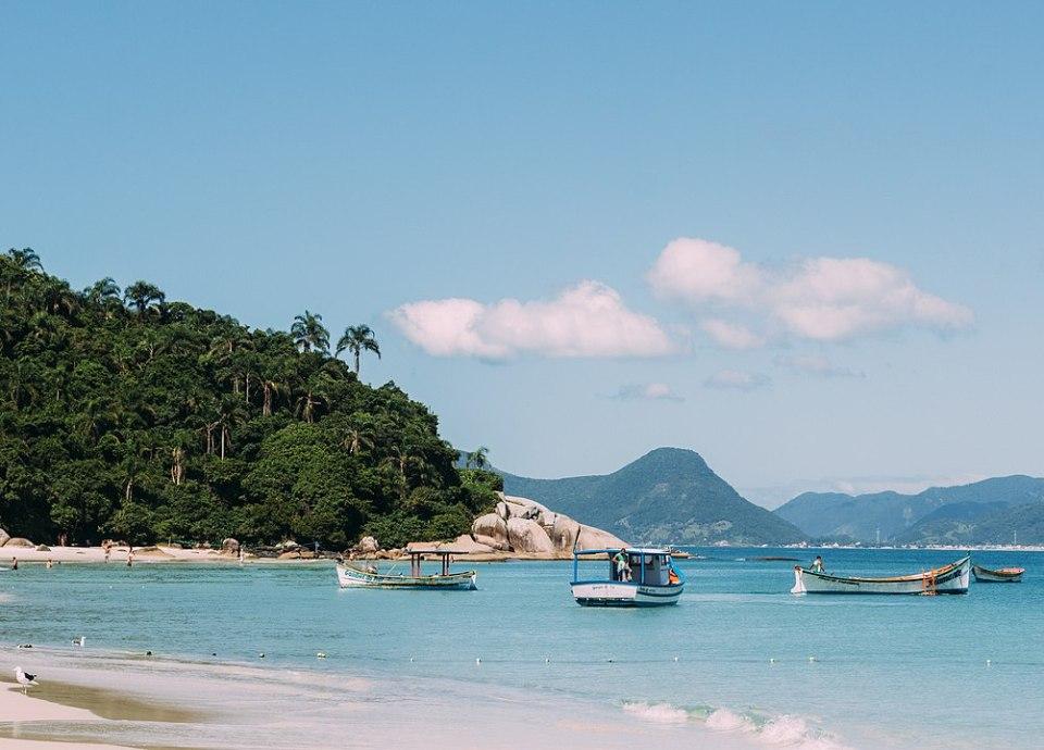 Melhores praias de Santa Catarina / Praia e Ilha do Campeche, Florianópolis