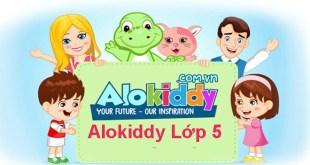 Alokiddy lớp 5