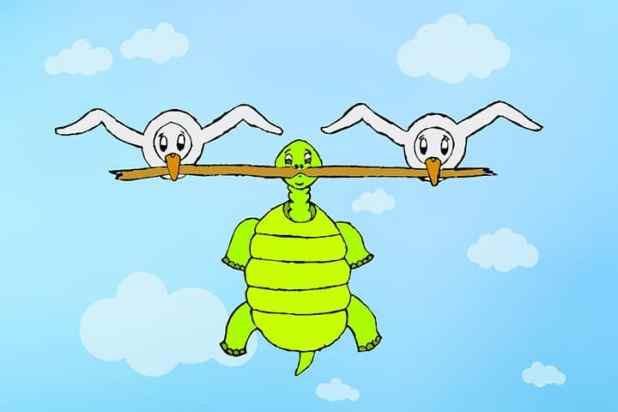 Truyện cho bé số 7. Ngỗng và rùa
