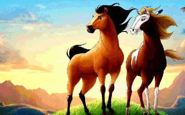 Truyện cho bé 1 tuổi số 1: Hai con ngựa