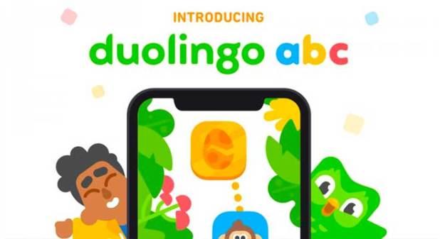 8. Phần mềm Duolingo ABC