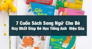 Sách Song Ngữ Cho Bé