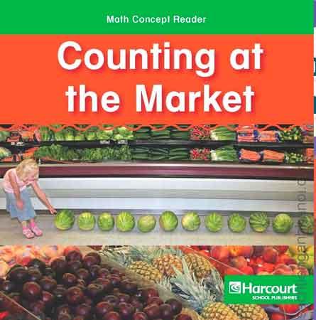 1. Sách tiếng Anh cho bé 3 tuổi học đếm: Counting at the market
