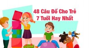 Câu Đố Trẻ Em 7 Tuổi - 48 Câu Đố Hay Giúp Bé Khám Phá Cuộc Sống