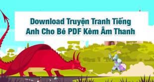 Download Truyện Tranh Tiếng Anh Cho Bé PDF Kèm Âm Thanh