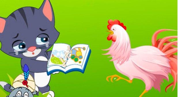 truyện mèo con và quyển sách