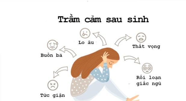 4. Dấu hiệu trầm cảm sau sinh - Biểu hiện của trầm cảm sau sinh