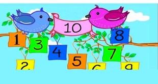 Bài Thơ Làm Quen Chữ Số Lứa Tuổi Nhà Trẻ - Nội Dung Chi Tiết