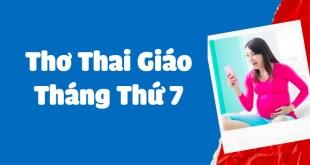 7 Bài Thơ Thai Giáo Tháng Thứ 7 Hay Nhất Để Phụ Huynh Cho Cho Bé