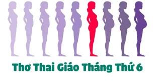 6 Bài Thơ Thai Giáo Tháng Thứ 6 Siêu Hay Cho Mẹ và Bé