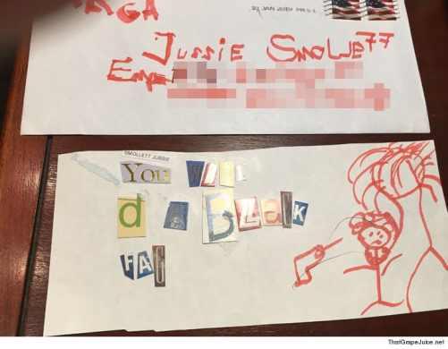 Image result for smollett magazine letter