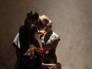 tekiuen, PERSONA PERSONAE, Seravezza 2011, vista dell'installazione
