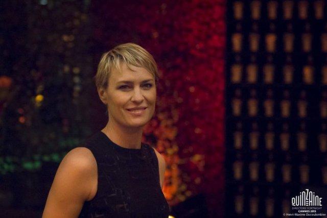 Robin Wright a Cannes alla poriezione di The Congress