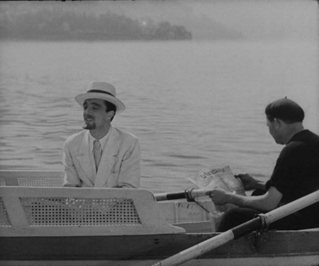 'Tempo massimo' di Mario Mattoli con Vittorio De Sica, anno 1934. Il film, ambientato sul lago di Como, apre il festival domani sera 2 luglio a Villa Carlotta di Tremezzo.