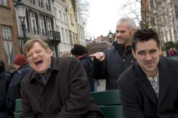 'In Bruges - La coscienza dell'assassino' (foto sul set)