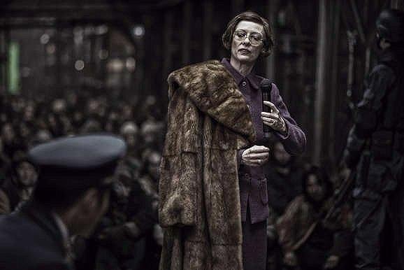 Tilda Swinton in 'Snowpiercer'