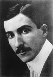 Ritratto di Stefan Zweig da giovane
