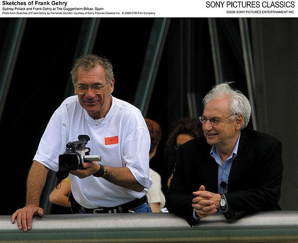 Sydney Pollack (a sin.) e Frank O. Gehry