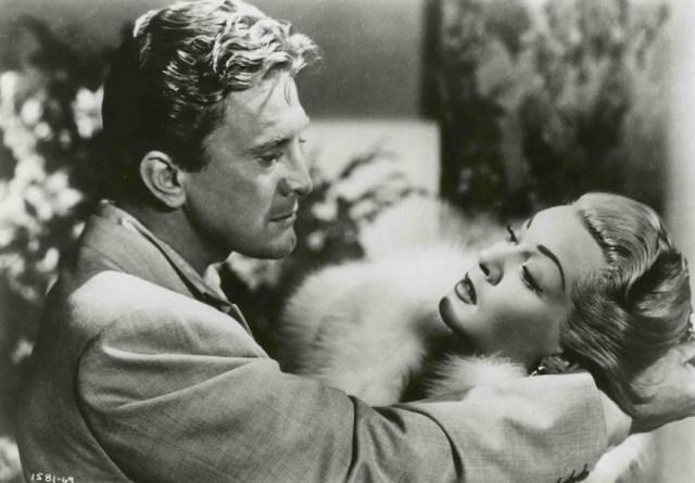 Kirk Douglas e Lana Turner