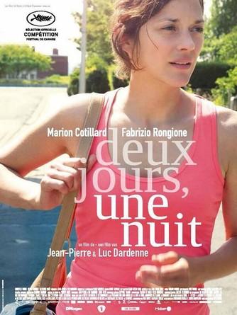 Cannes 2014. Poster di 'Deux jours, une nuit' dei fratelli Dardenne, con Marion Cotillard. In concorso,